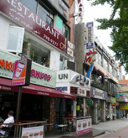 韩国梨泰院